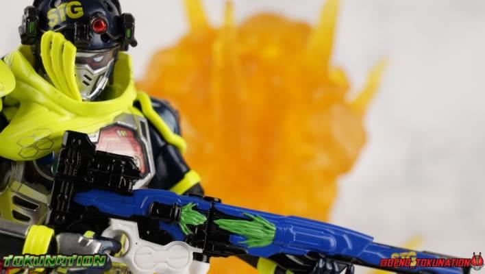 Mighty Action X Beginning Set Part 3: S.H. Figuarts Kamen Rider Snipe Level 2 Gallery
