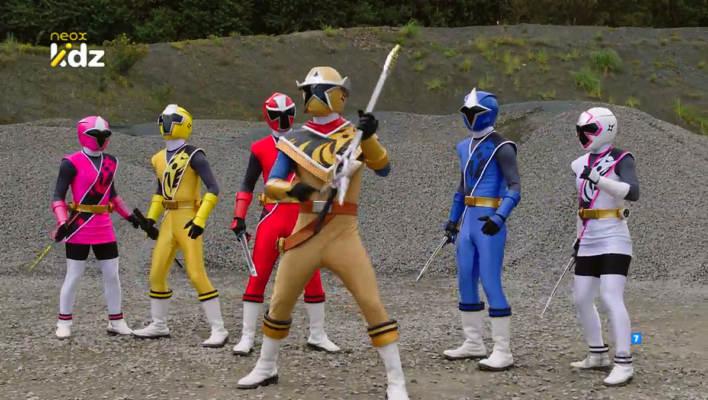 Nearly 1400 Screen Captures of Power Rangers Ninja Steel Episode 09