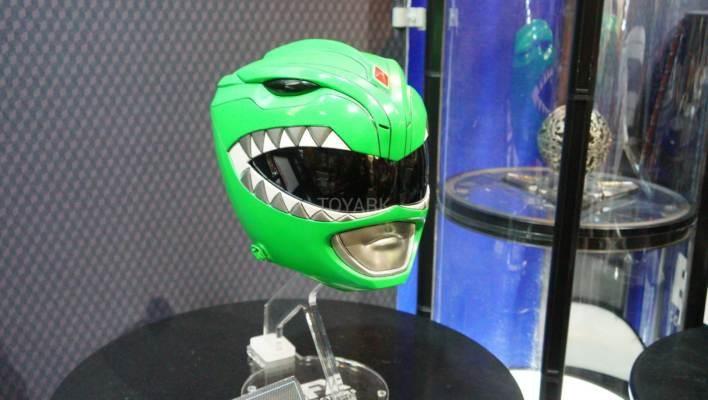 SDCC 2017 - EFX Collectibles Green Ranger Helmet