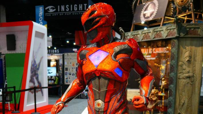 SDCC 2017 - Weta Workshop Power Rangers Movie Suit