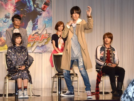 Kamen Rider Build Cast Details Online!