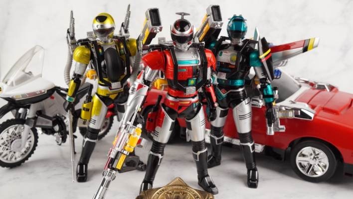 S.H. Figuarts Tokkei Winspector Full Package Option Set Gallery