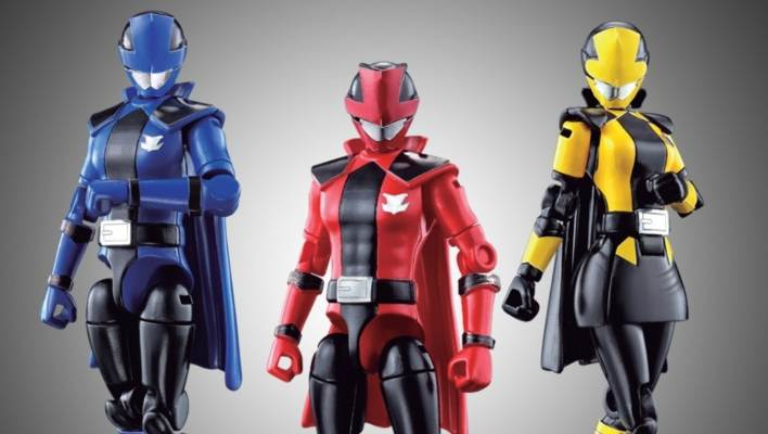First Look - Yu-Do Patranger vs Lupinranger Candy Toy Figures