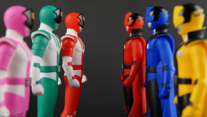 Lupinranger - Sentai Hero Collection Lupin Red, Blue, & Yellow Vinyls Gallery