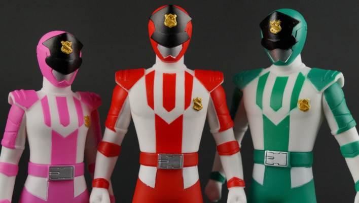 Patranger - Sentai Hero Collection Patren 1, Patren 2, & Patren 3 Vinyls Gallery