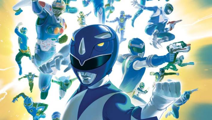 Shattered Grid - New Power Rangers Variant Covers