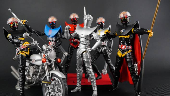 S.H. Figuarts Hakaider Squad Pre-Production Factory Sample Gallery