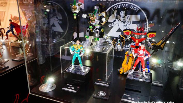 Toy Fair 2018 - Tamashii Nations Power Rangers Display