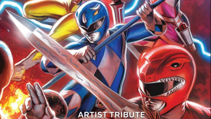 Power Rangers Artist Tribute Book Review