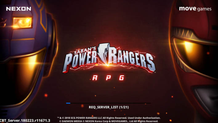 First Impressions of Power Rangers RPG by Nexon Mobile
