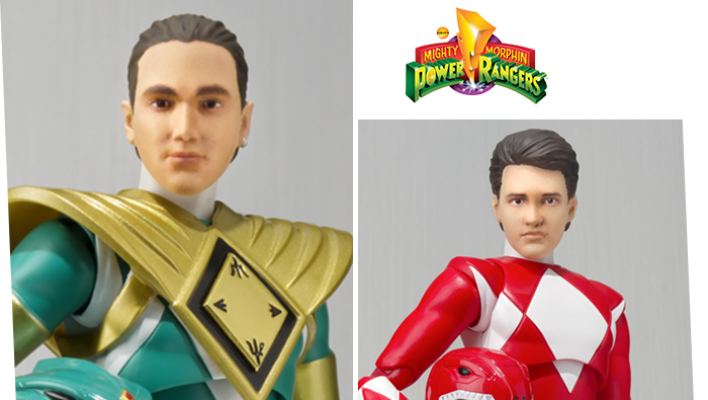 SDCC 2018 S.H. Figuarts Helmetless MMPR Green & Red Rangers Confirmed