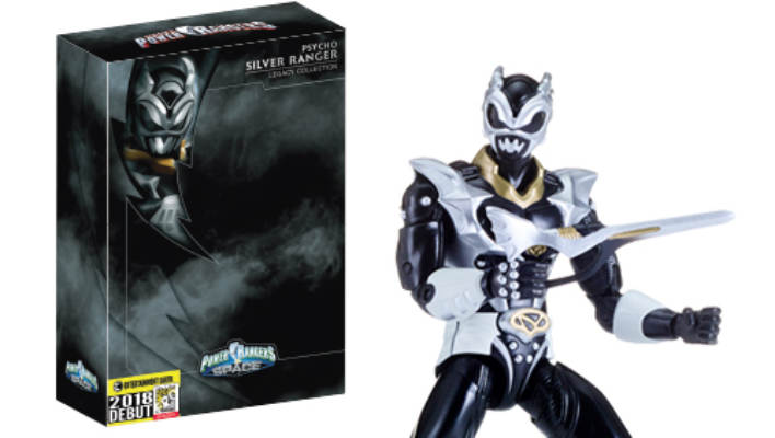 SDCC 2018 - Power Rangers in Space Legacy Psycho Silver is Entertainment Earth Exclusive