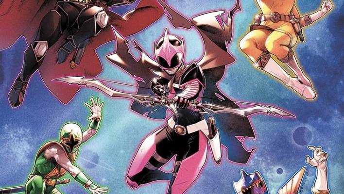 The Dark Ranger Finally Arrives - Introducing the NEW Main Cast of Mighty Morphin Power Rangers