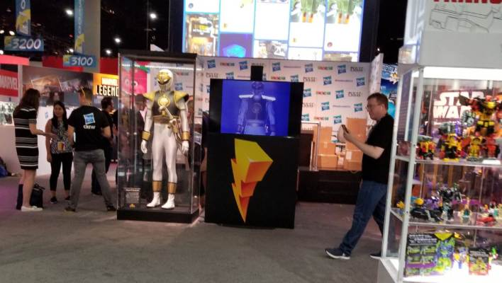 First Power Rangers Image from Hasbro's SDCC Booth