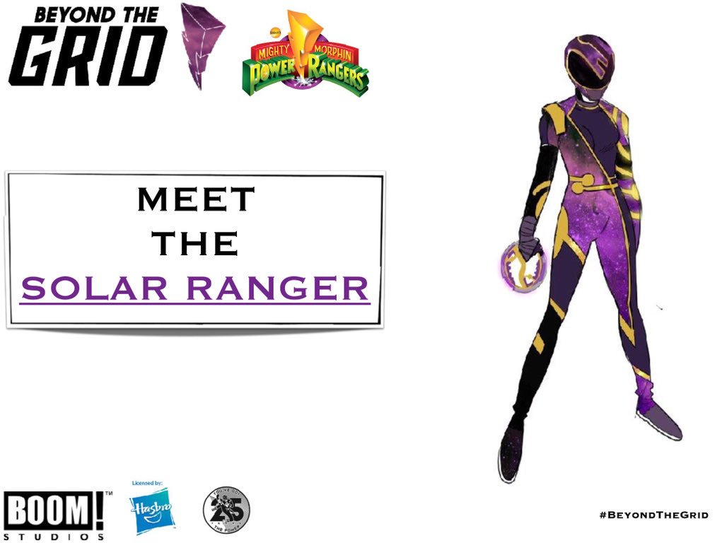 Power Morphicon Boom Studio Reveals- Introducing the Solar Ranger!