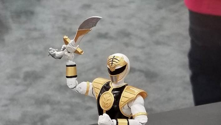 Video Breakdown of Lightning Collection MMPR White Ranger
