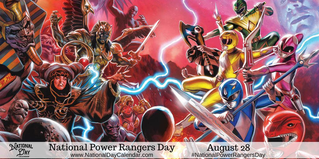 Hasbro Declares August 28th - National Power Rangers Day