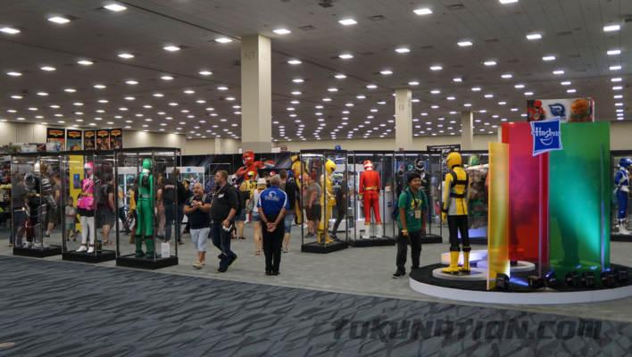 Power Morphicon - Legendary Rangers Costume Displays