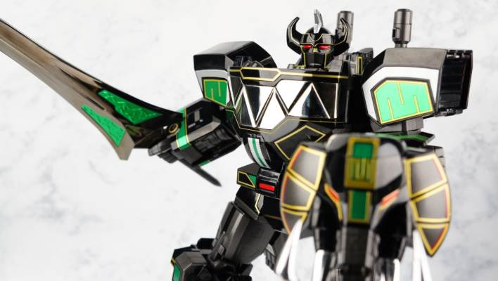 SDCC Exclusive Soul Of Chogokin SOC GX-72B Black Megazord Gallery