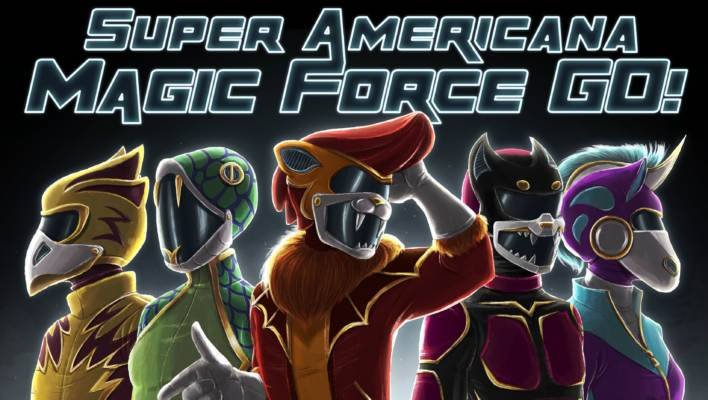 Super Americana Magic Force Go! - Tokusatsu Tabletop RPG Kickstarter Game