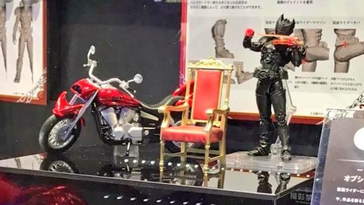 Tamashii Nations 2018: S.H. Figuarts Machine Kivaa & Parts Set Revealed