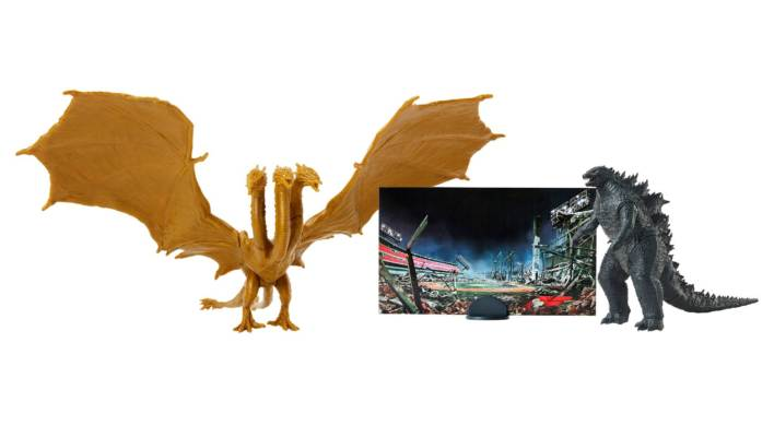 Official Images Released for Initial Godzilla King of The Monsters Toyline