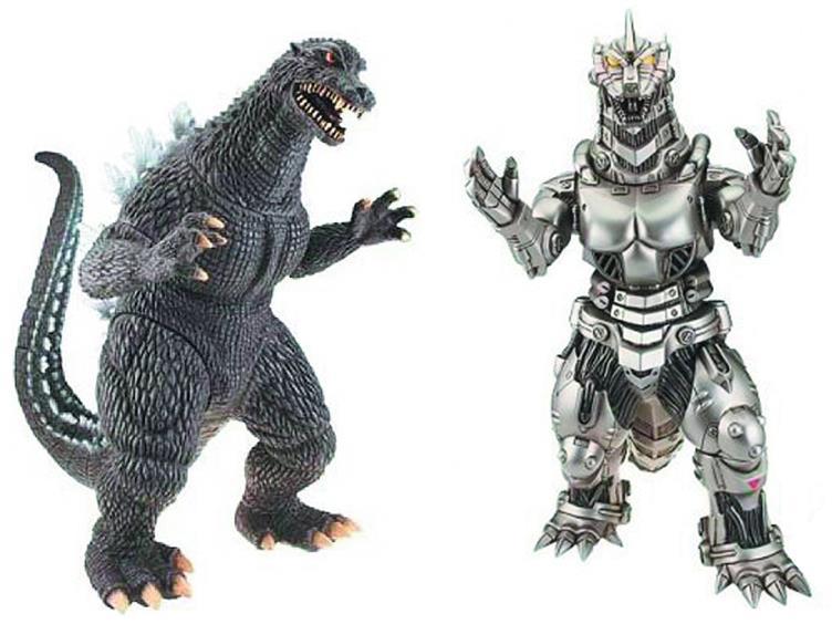 Godzilla toys 2013