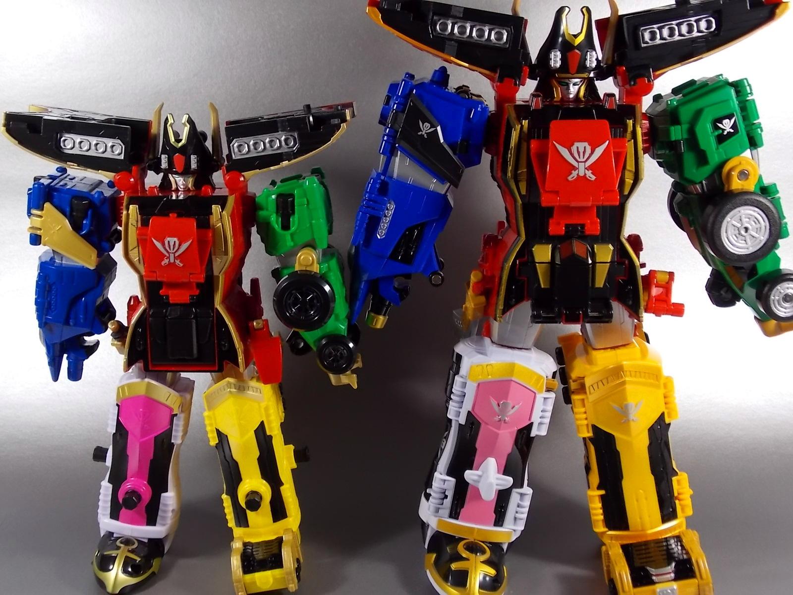 Bandai Super Robot Chogokin Gokaiger Gokai-Oh Super Megaforce Legendary Megazord