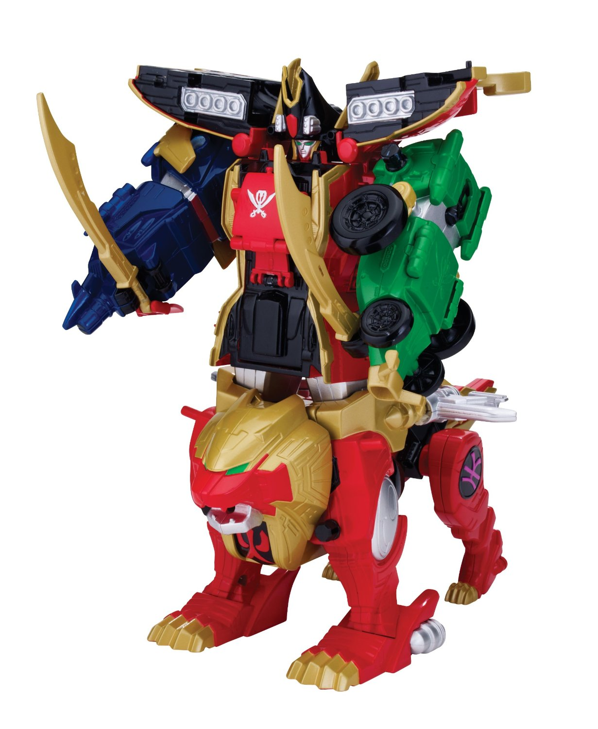 Power Rangers Super Megaforce Wild Force Red Lion Zord First Images