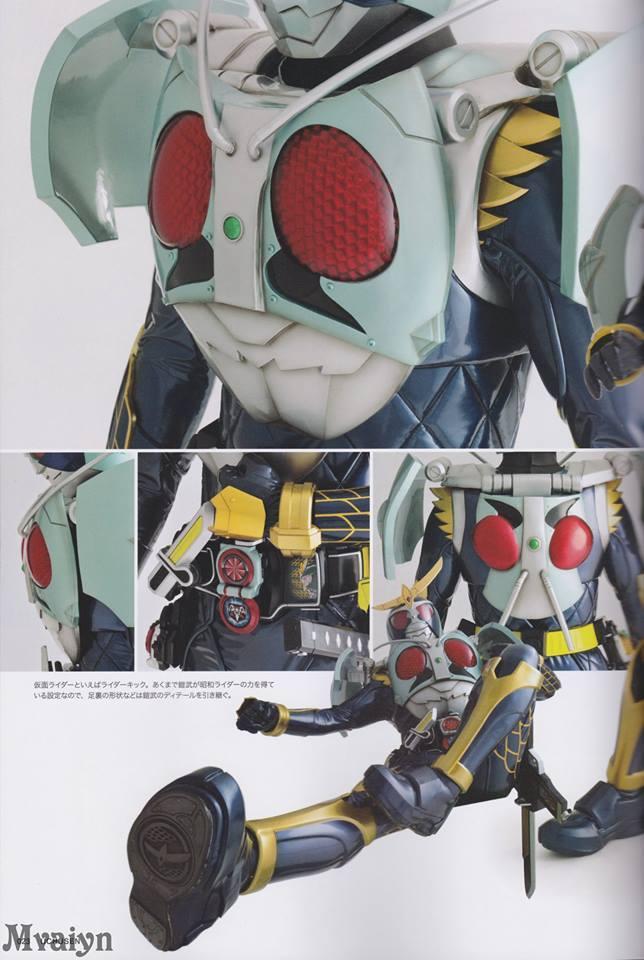detailed look at kamen rider gaim number one arms tokunation