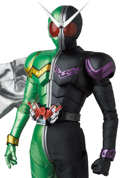RAH Kamen Rider W Cyclone Joker 2.0 Announced!