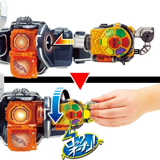 Kamen Rider Gaim DX Kachidoki Lock Seed  Kiwami Lock Seed  Set