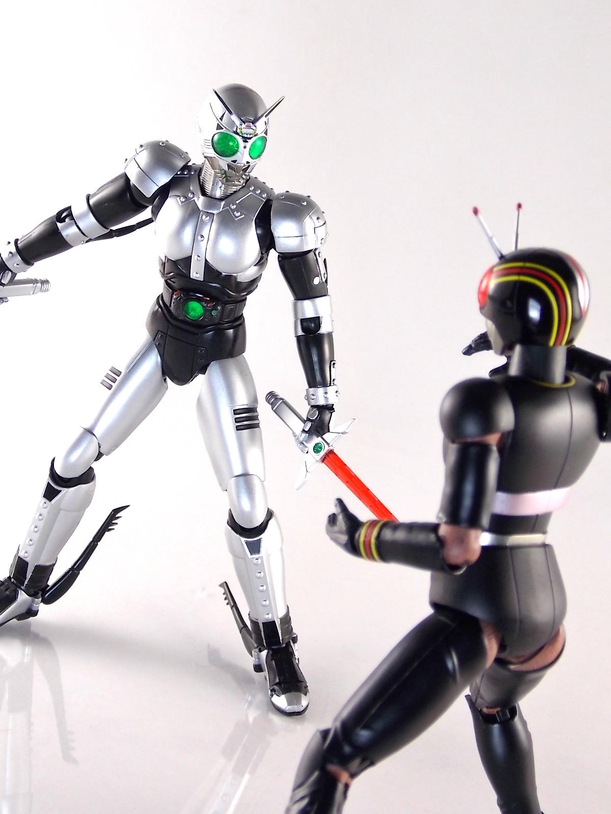 Toy Tuesdays: S H  Figuarts Kamen Rider Black & Battle Hopper