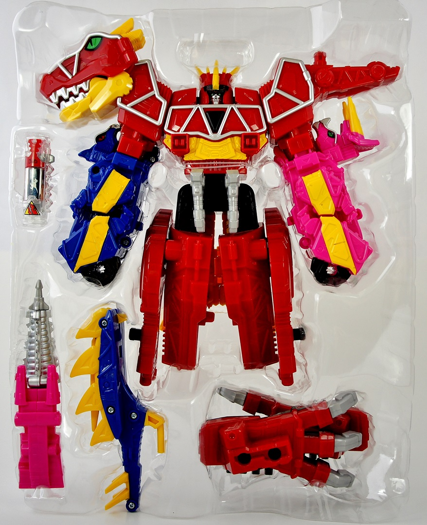 All Dino Charge Megazords