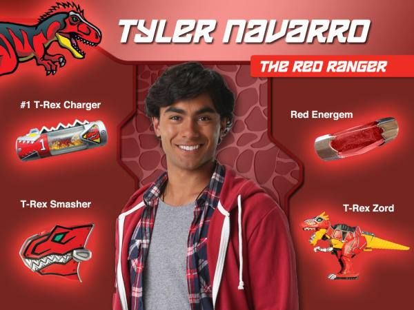 Power Rangers Dino Charge Character