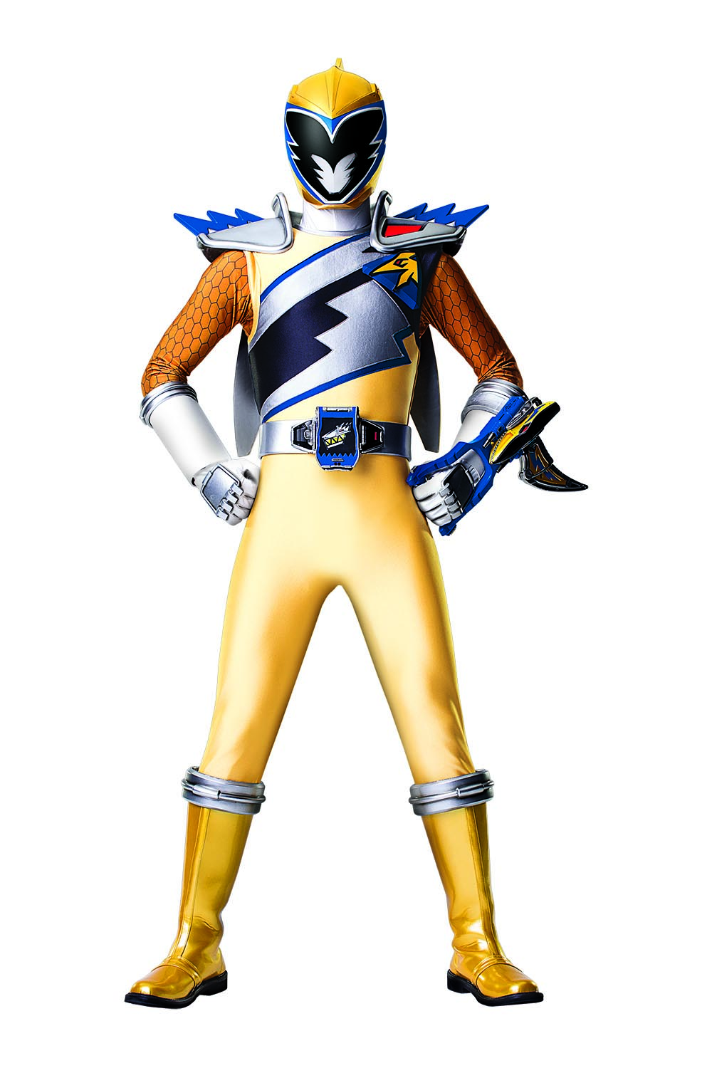 Get To Know The Power Rangers Dino Charge Gold Ranger