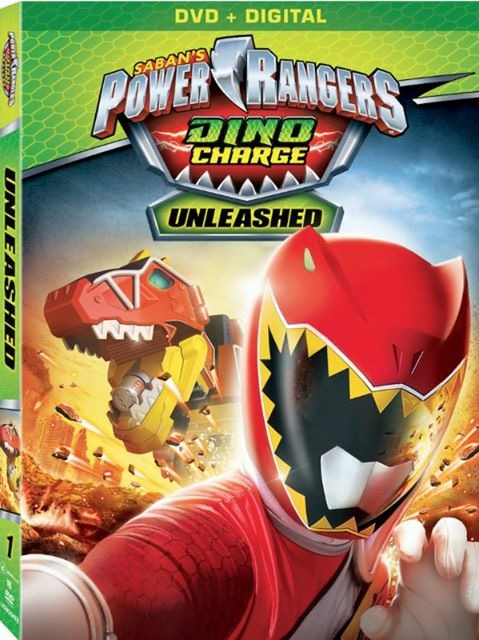 Power Rangers Dino Charge Dvd Volume 1 Coming January 2016