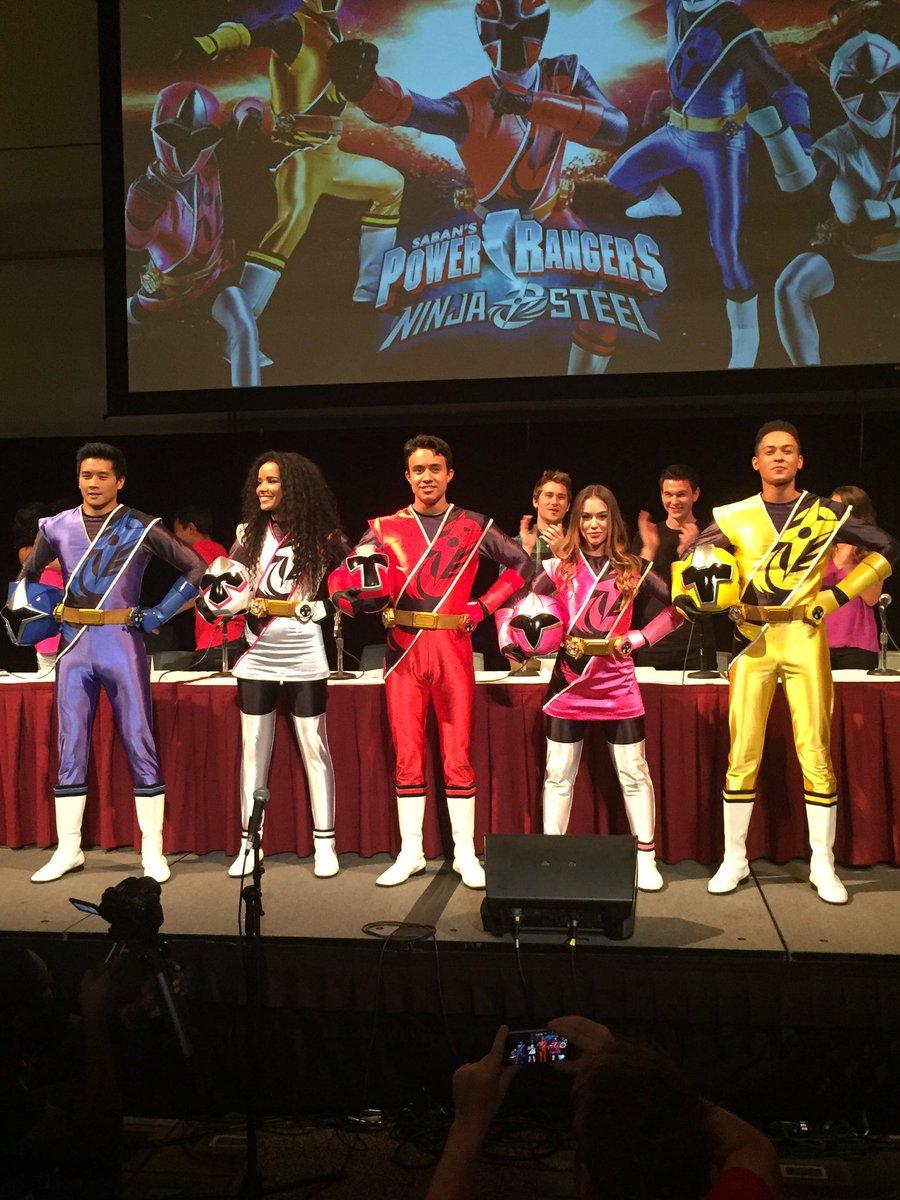 Power Rangers Ninja Steel Cast Revealed at Power Morphicon