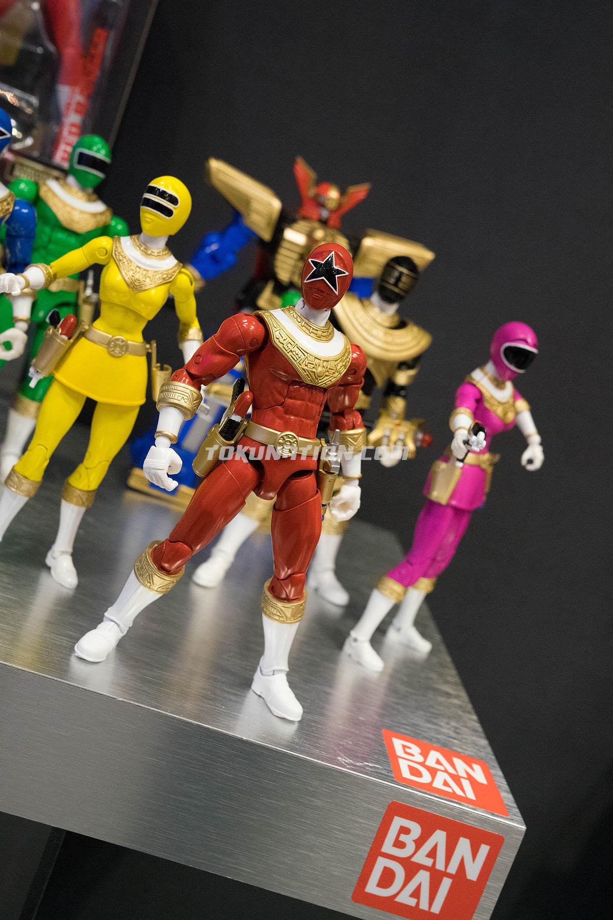 Power Rangers Legacy Figures Megazord BAF ZEO PINK /& YELLOW Ranger