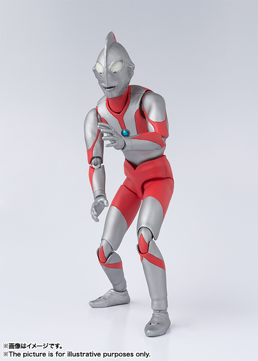 S.H. Figuarts Ultraman Type A Suit Revealed - Tokunation