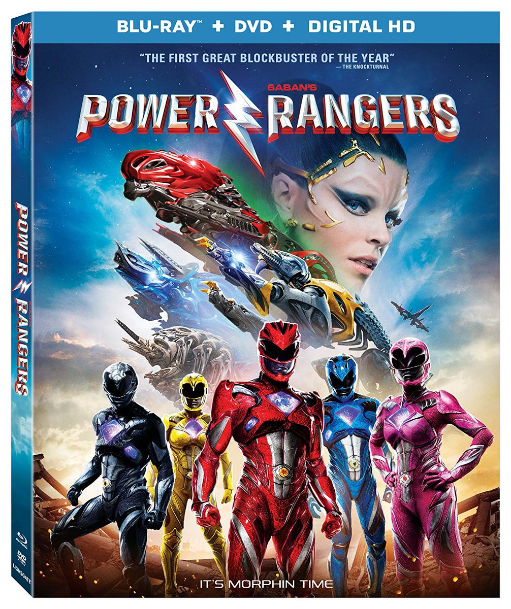 power rangers 2017 home video release details announced. Black Bedroom Furniture Sets. Home Design Ideas