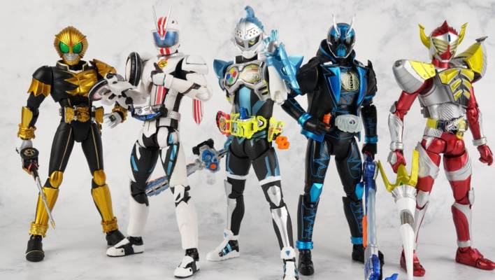 Mighty Action X Beginning Set Part 2: S.H. Figuarts Kamen Rider Brave Level 2 Gallery