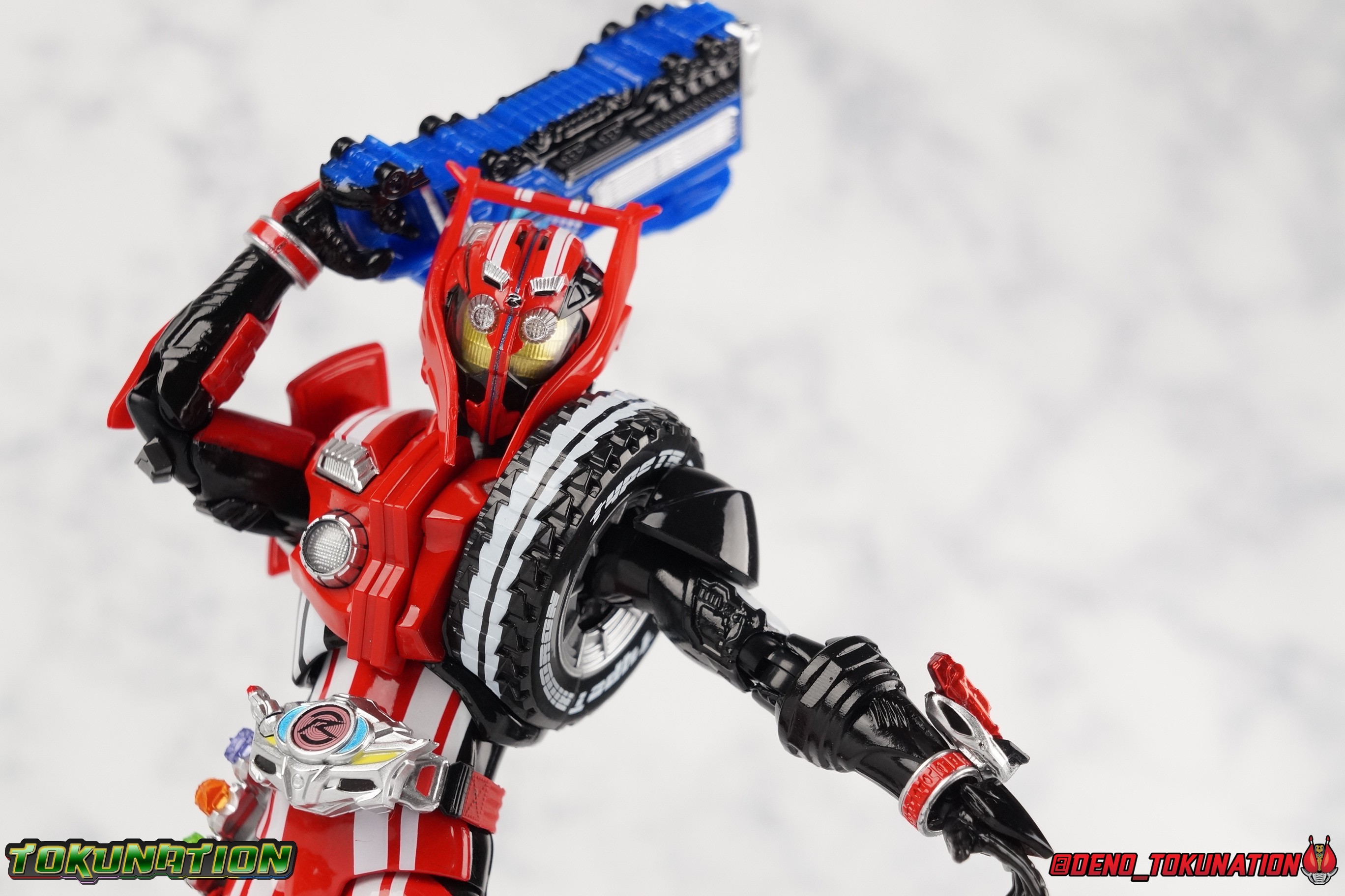 S H  Figuarts Kamen Rider Drive Type Tridoron & Tire