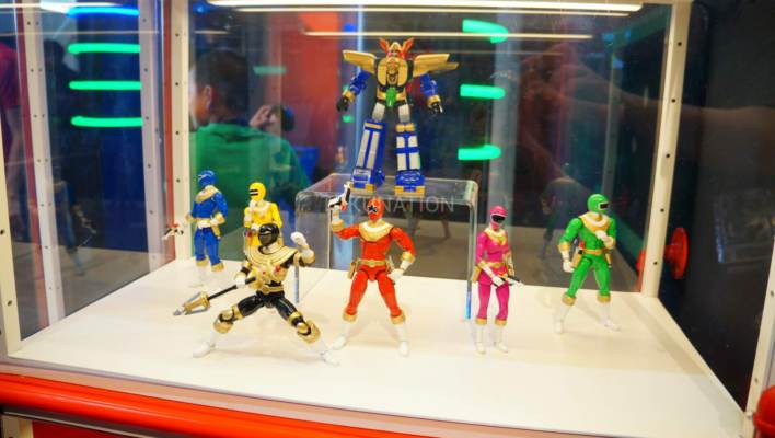 SDCC 2017 - Power Rangers Toys from Bandai America