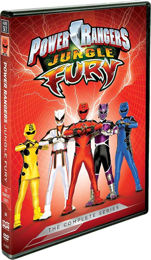 Power Rangers Jungle Fury The Complete Series Dvd Release
