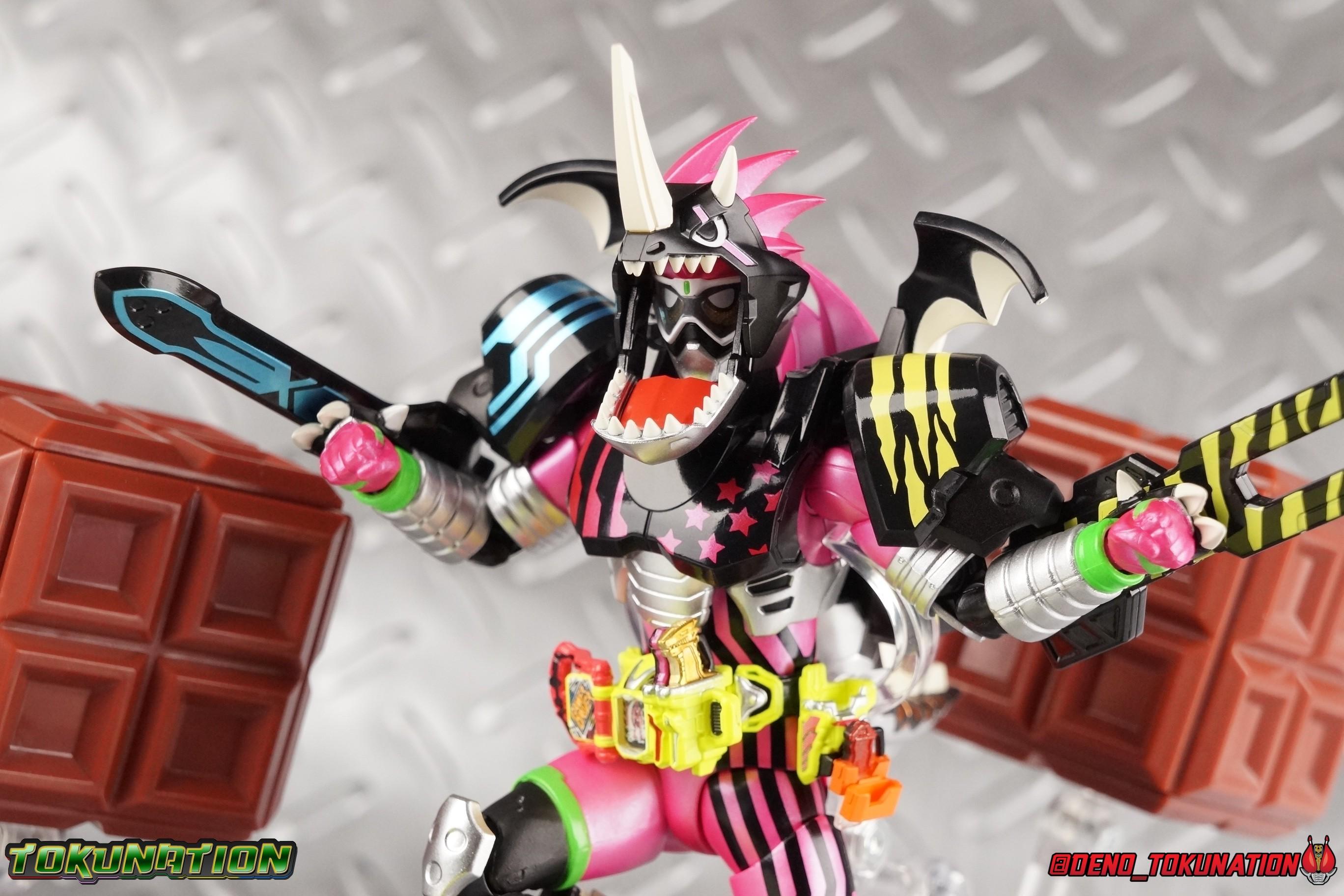 S H Figuarts Kamen Rider Ex Aid Hunter Action Gamer Level 5 Gallery Tokunation