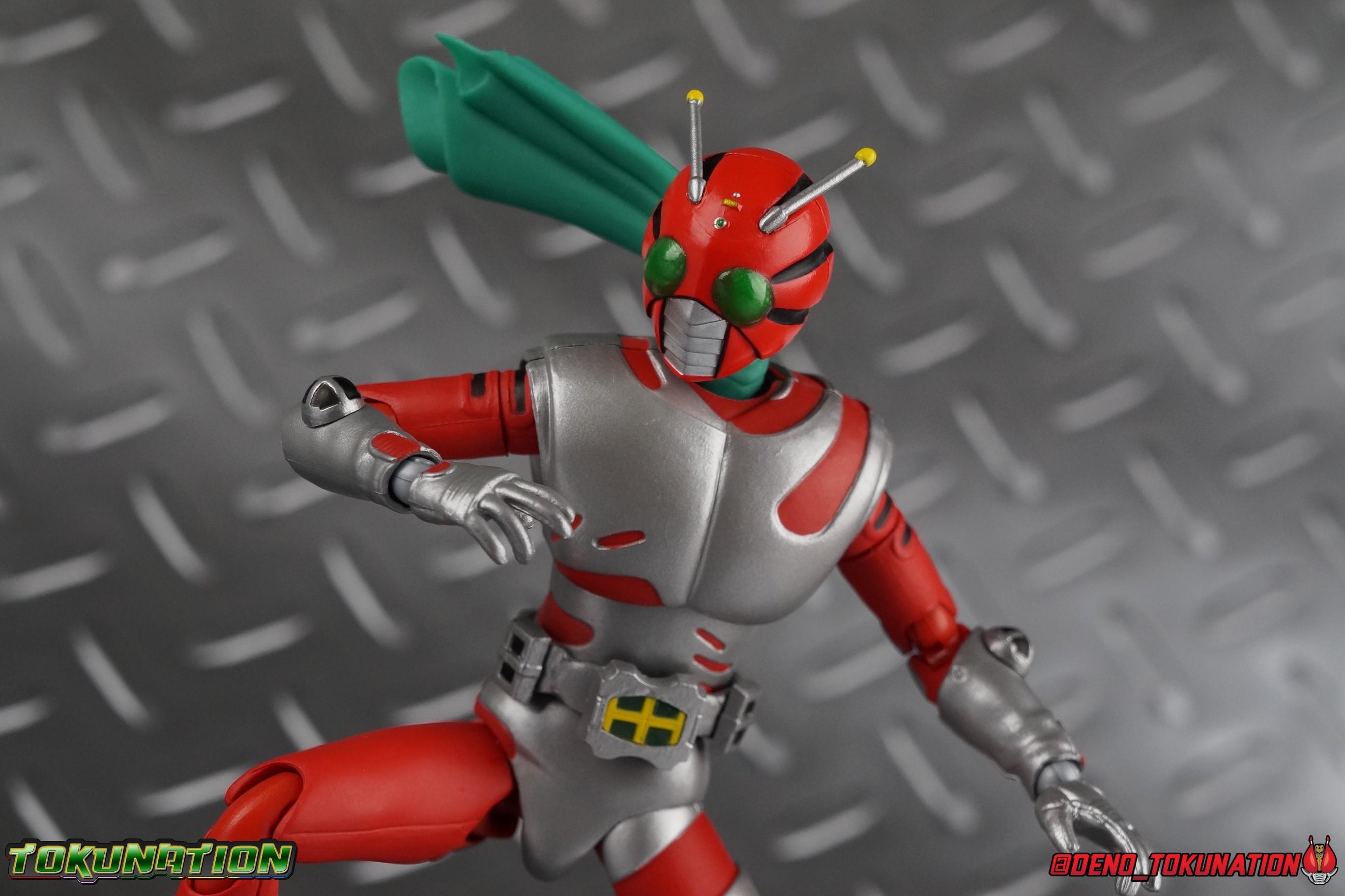 S.H. Figuarts Kamen Rider ZX & Helldiver Gallery - Toku ...