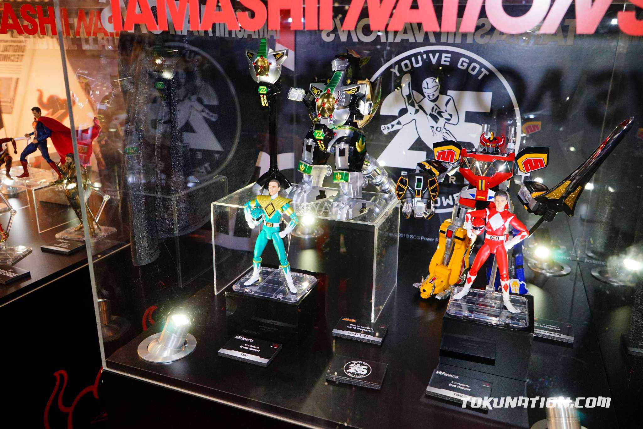 Toy Fair 2018 Tamashii Nations Power Rangers Display