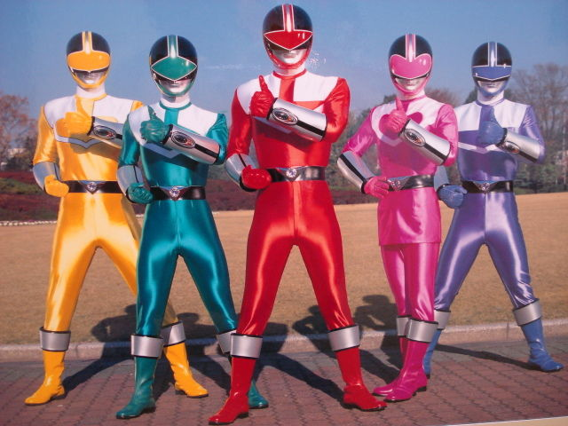 Power Rangers Time Force Red Ranger