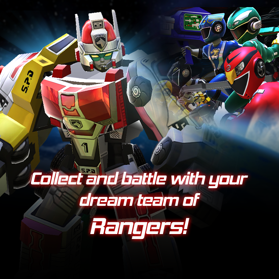 Power Rangers All Stars Mobile Game Now Available - Tokunation